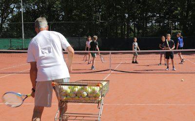 Tenniskamp zomervakantie 10 t/m 14 augustus